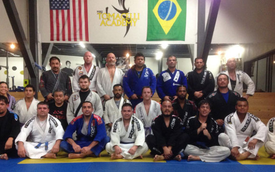 Tomacelli Academy Brazilian Jiu-Jitsu & MMA is a close-knit and hard-working family dedicated to ensuring that every one of its members receives the personal attention he or she deserves and needs in order to achieve excellence.