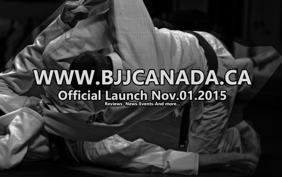 Official launch date of bjjcanada.ca is Nov 2015