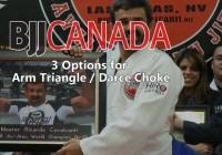 Jiu Jitsu Techniques – 3 Options for Arm Triangle / Darce Choke