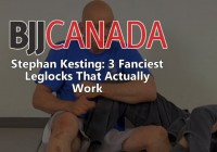 Stephan Kesting: 3 Fanciest Leglocks That Actually Work
