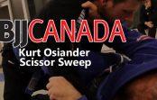Kurt Osiander  Scissor Sweep